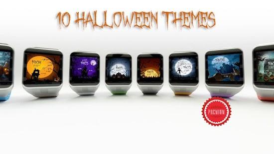 Watch Face - Halloween Spooky - náhled