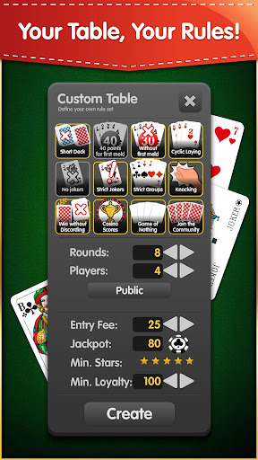 Rummy (Free, no Ads) apkpoly screenshots 4