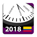 Calendario Colombia 2018 con Feriados Nacionales icon