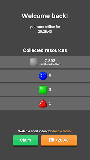 Rock Collector - Idle Clicker Game 2.0.3 screenshots 6
