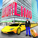 Luxury Limo Taxi Driver City : Limousine Driving icon