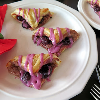 Dark Cherry Chocolate Cheese Danish