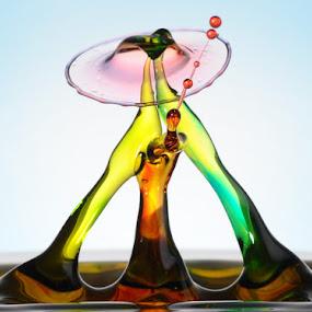 Intimate by Salahudin Damar Jaya - Abstract Patterns ( splash, hsp, droplets )