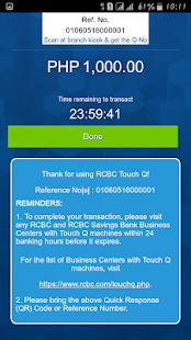 RCBC Touch Q- screenshot thumbnail
