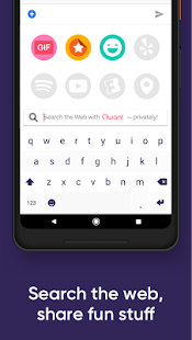 Fleksy Keyboard - Power your chats & messages- screenshot thumbnail