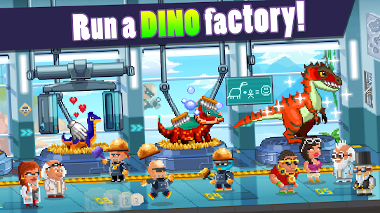 Dino Factory MOD 1.2.2 (Unlimited Money) APK 2
