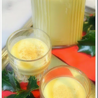 Mexican Eggnog Recipe / Rompope