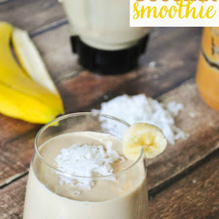 Peanut Butter Coconut Smoothie