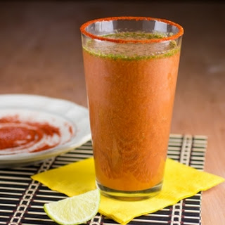 Homemade Spicy Lime Michelada