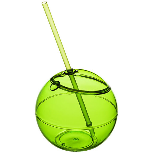 Novelty Drinking Cup & Straw for Printing