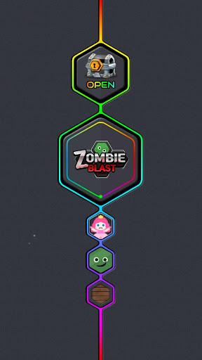 Princess and Zombies -Puzzle Hexa Blast apktram screenshots 8