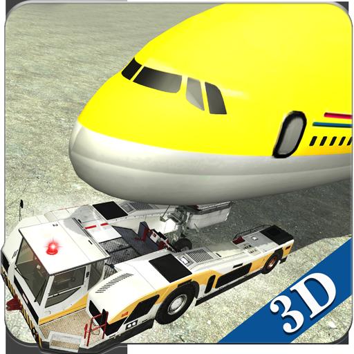 模擬App|機場地面飛行工作人員3D LOGO-3C達人阿輝的APP