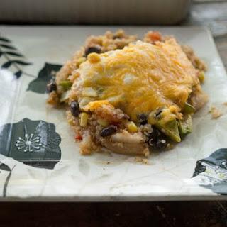 Easy Healthy Quinoa Enchilada Bake