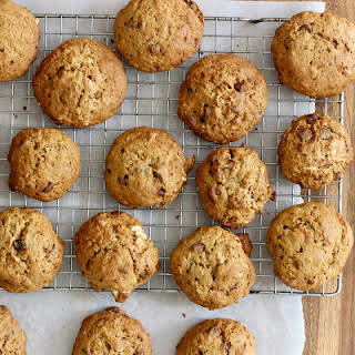 Healthier (?) Cakey Chocolate Chip Cookies.