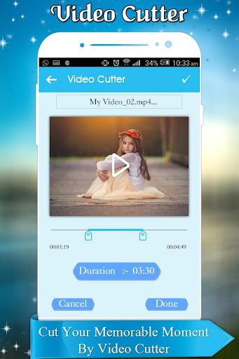 Video Cutter and Trimmer for WhatsApp 1.0 screenshots 4