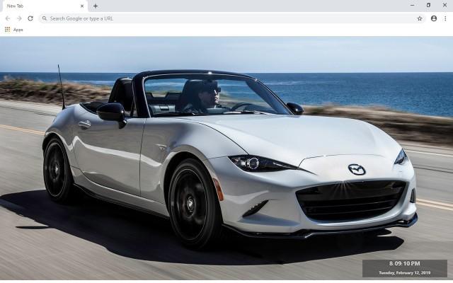 Mazda MX-5 Miata New Tab Theme