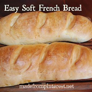 Easy, Soft French Bread.