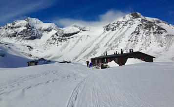 Photo: Tarfala mountain hut
