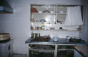 Photo: 03410 二連/市街/食堂の台所