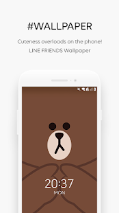 LINE FRIENDS - characters / backgrounds / GIFs - náhled