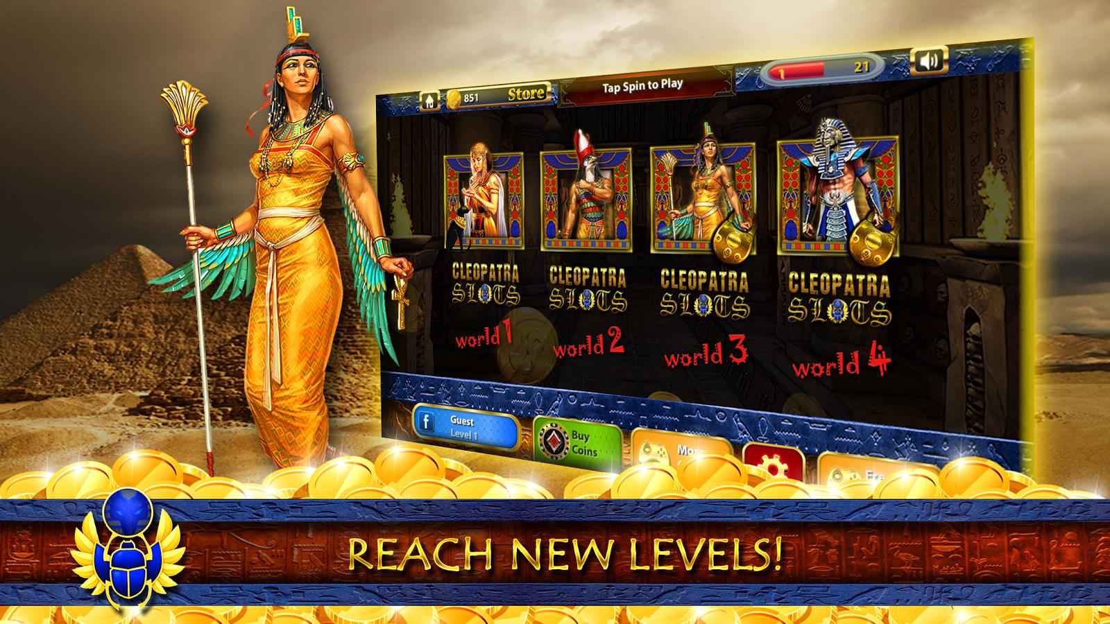 Cleopatra poker machine