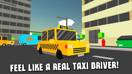 キューブタクシードライビングシミュレータ3D