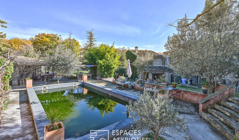 Maison avec piscine et terrasse Gordes