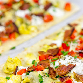 Thin Crust Breakfast Pizza