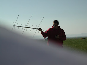 Photo: N7RYN attempting the impossible FD2009, total contacts 1313