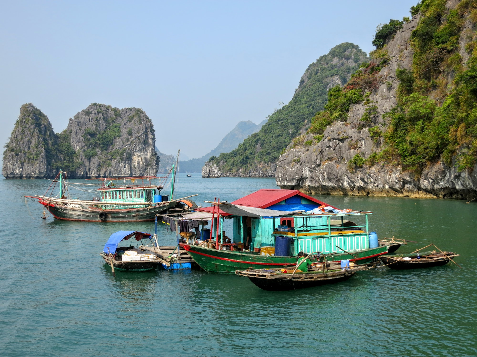 a glimpse into traditional fishing villages in halong bay photo a glimpse into traditional fishing villages in halong bay photo essay