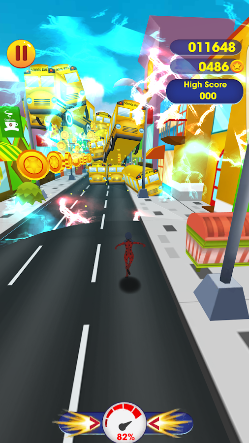 🐞 LadyBug: Run Adventure 3D- screenshot