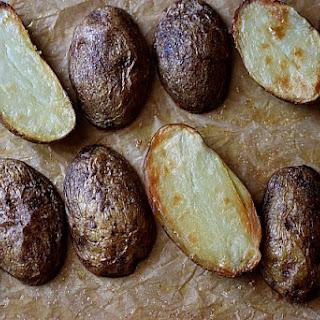 EASY! Oven Roasted Potatoes