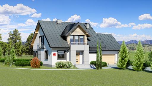 projekt Dom przy Wiosennej 11