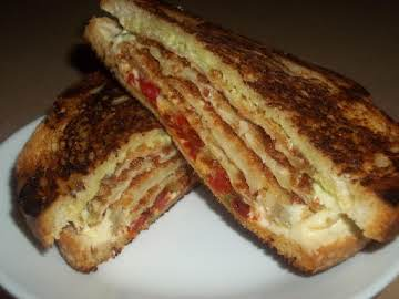 Gourmet Eggplant Sandwich