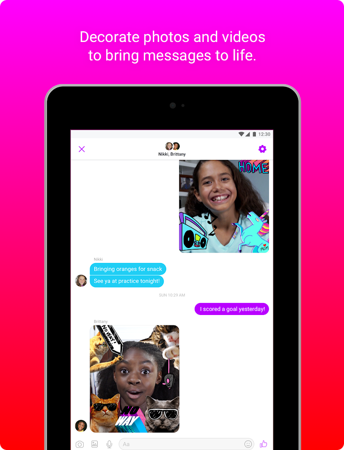 Messenger Kids – Safer Video Calls and Texting