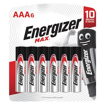 Oferta Pila ENERGIZER   Max Power Seal AAA6 x6und