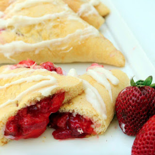 Strawberry Cream Cheese Turnovers