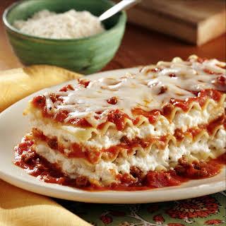 No Boiling Lasagna.