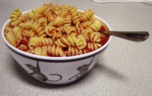 Roonies (macaroni & Tomatoe Juice) Recipe