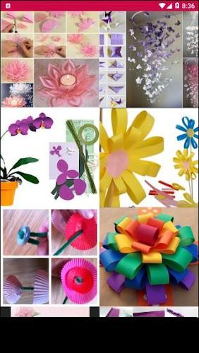 Paper flower craft tutorial on google play reviews stats paper flower craft tutorial android app screenshot mightylinksfo