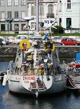 Photo: Ja ainakin yhden suomalaisen veneen näimme nytkin Hortan satamassa