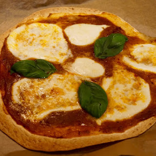 20 Min Dinner: 600 Kcal Calories Real Mozzarella Di Bufala Tortilla Pizza Recipe