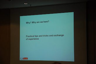 Photo: Fantastic Speakers and agenda?Lottery? Beer? MemberCollaborationand benefits of their experience...