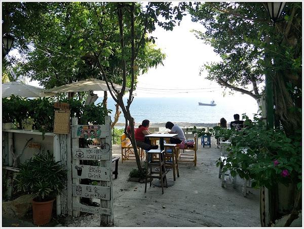 萊加呵Nine J~用35元銅板價格輕鬆享有漂亮的私房海景與清涼飲品^^