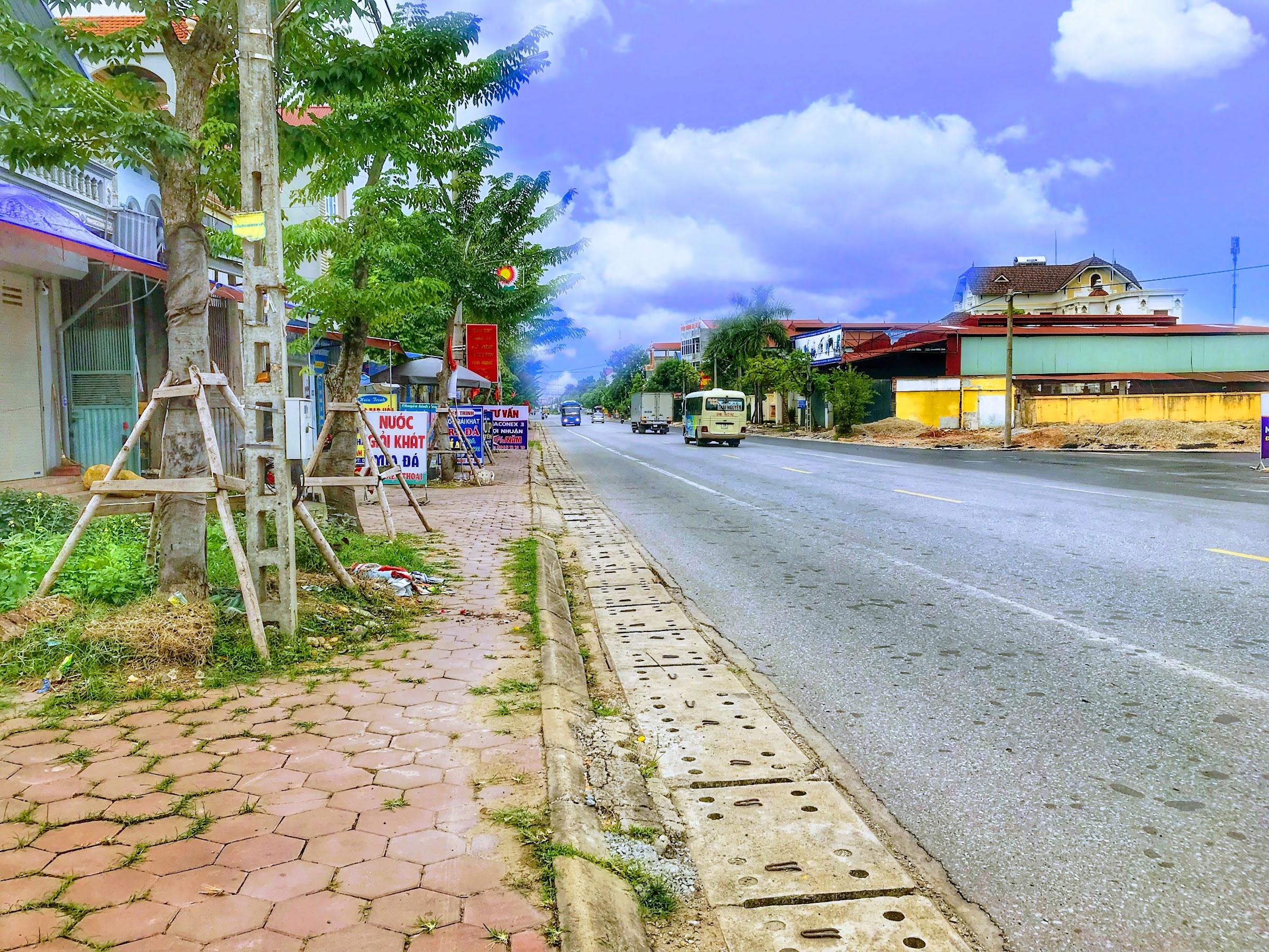 Đất mặt đường QL 3 Phổ Yên - MT 10m - 35m