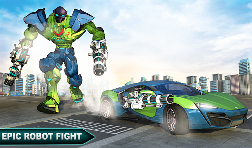 Incredible Monster Robot Hero Crime Shooting Game apkdebit screenshots 11