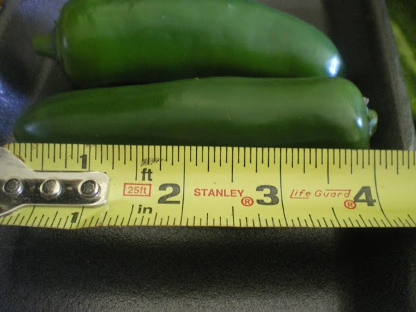This will give you an idea of the size of peppers I use. ...