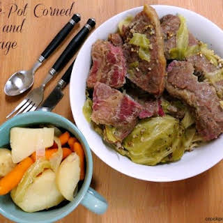 Crock-Pot Easy Corned Beef and Cabbage.