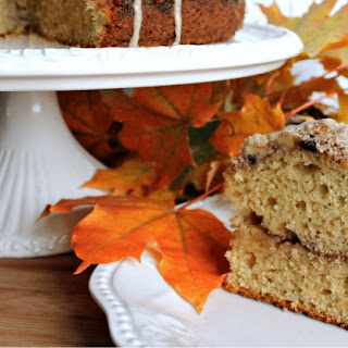 Maple Walnut Coffee Cake.