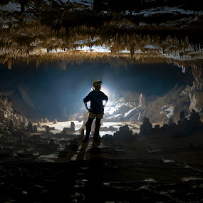 Another World by Alabama Photos - Landscapes Starscapes ( silhouette, cave, underground )